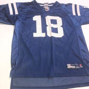 Peyton Manning Indianapolis Colts Jersey Size YXL